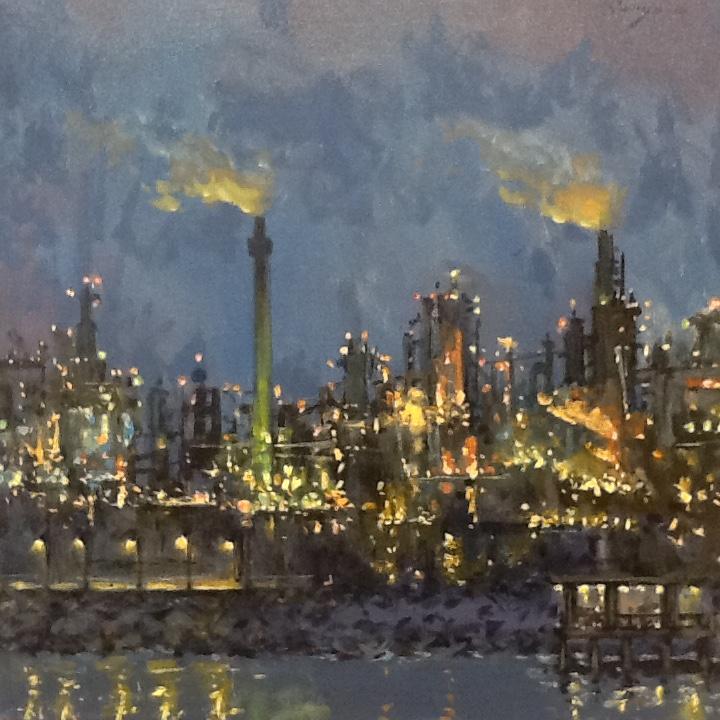 oil refinery I